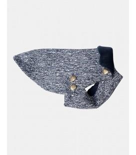 Manteau Slim laine canevas impermeable
