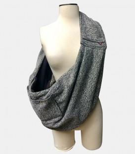 Sac hamac laine canevas /canevas wool hammock bag