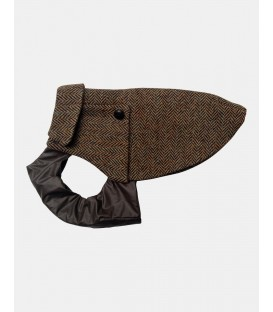 Manteau YORK TOY Scotland yard Tweed