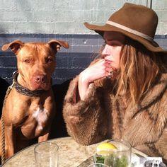 erinn wasson et son chien