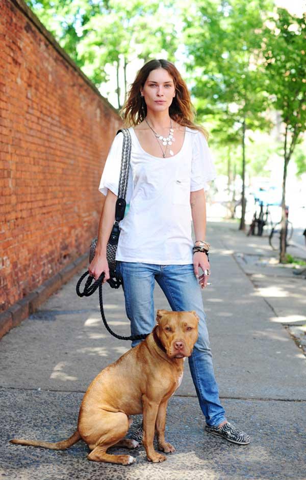 promenade erin wasson et son chien